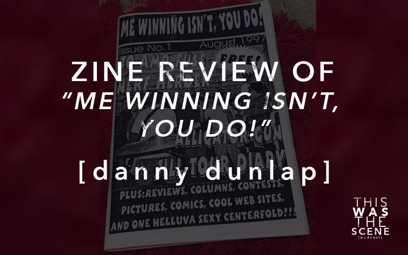 Zine Review of Me Winning Isn't You Do