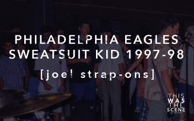 Philadelphia Eagles Sweatsuit Kid 1997-1998